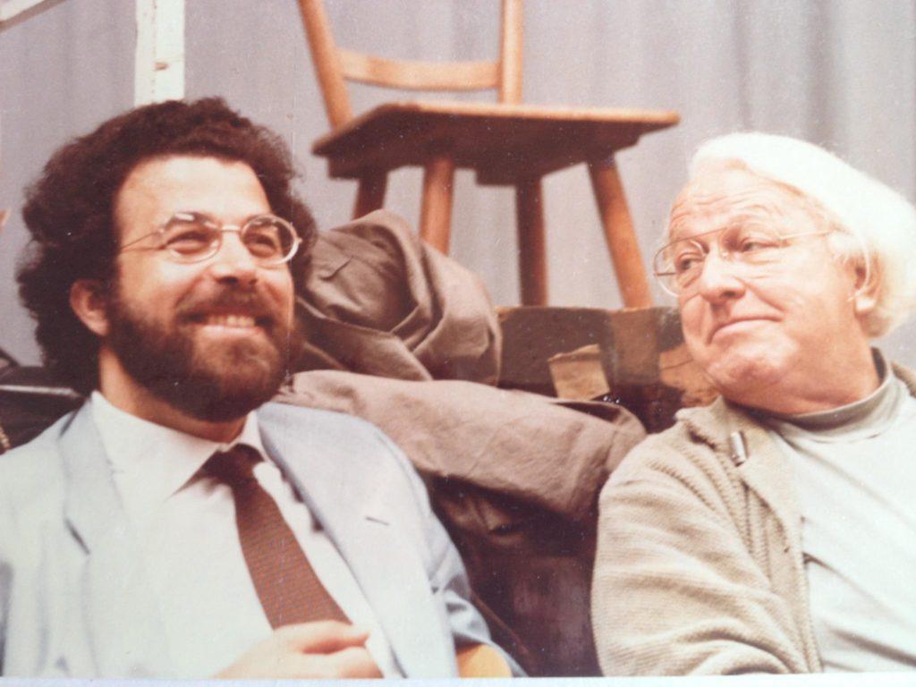 Giuseppe Sinopoli e Wolfgang Wagner